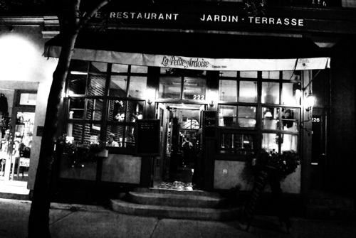 Le Petite Ardoise, Montreal