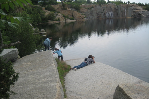 """At the Edge of the Quarry,"" July 2008"