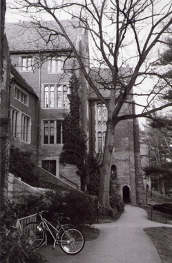 Outside Founders Hall