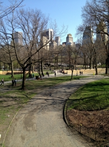 Central Park Running Path, 4.15.2013