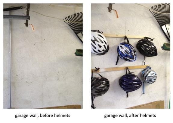 Helmet hanger