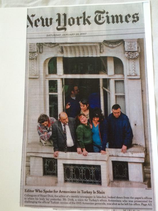 Hrant Dink, editor of weekly newspaper in Istanbul, is slain (2007)